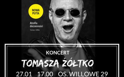 Koncert Tomasza Żółtko | 27.01.2019