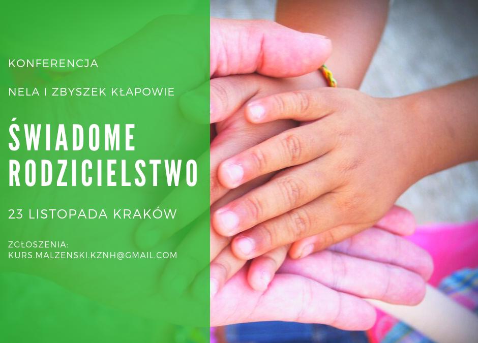 Konferencja Świadome Rodzicielstwo | 23.11.2019